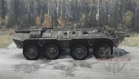 BTR-80 (GAZ 5903) para Spintires MudRunner