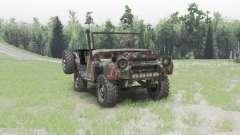 UAZ 469 enferrujado