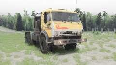 KamAZ-53504 v1.Sete para Spin Tires
