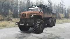 Ural Polyarnik 4320-60 para MudRunner