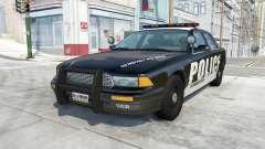 Gavril Grand Marshall Police Interceptor para BeamNG Drive
