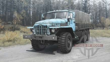 Ural 375Д 1964 para MudRunner