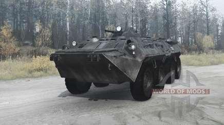 BTR-80 (GAZ 5903) para MudRunner