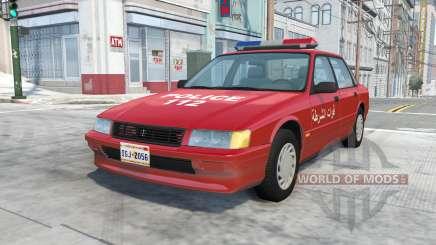 Ibishu Pessima Syrian Police para BeamNG Drive