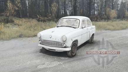 Moskvich 407 1958 para MudRunner