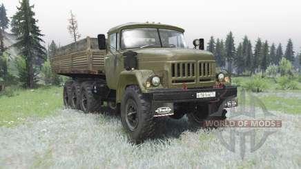 ZIL 131 8x8 para Spin Tires