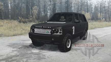 Land Rover Range Rover Supercharged (L322) 2005 para MudRunner