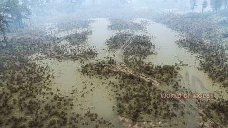 A força do rio v0.1 para Spintires MudRunner