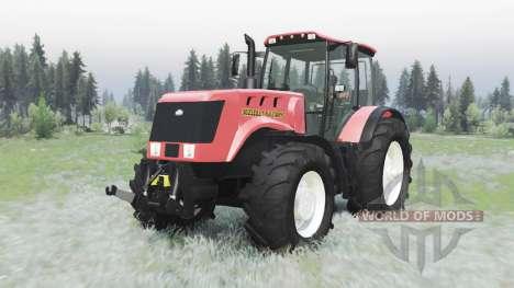 Bielorrússia 3022ДЦ.1 para Spin Tires