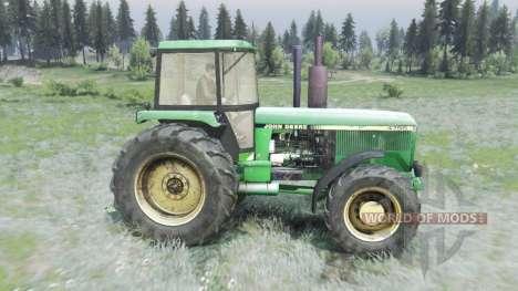 John Deere 4755 para Spin Tires