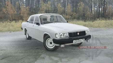 Volga GAZ (31029) 1991 v1.1 para Spintires MudRunner