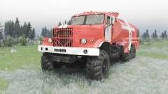 KrAZ 255B CA 8.5 para Spin Tires