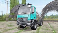 Mercedes-Benz Arocs 2043 2013 v1.1 para Farming Simulator 2017