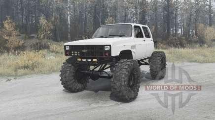 Chevrolet K30 crawler para MudRunner