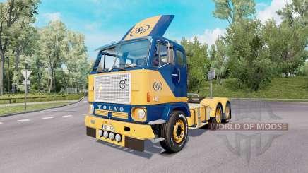 Volvo F88 6x4 tractor 1965 para Euro Truck Simulator 2