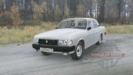 Volga GAZ (31029) 1991 v1.1 para MudRunner