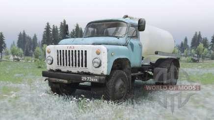 GAZ 53.O-C KO-503B-2 para Spin Tires