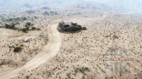 Martinez Canyon para Spintires MudRunner