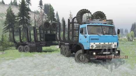 KamAZ 4310 v1.2 para Spin Tires