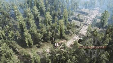 Oblast de Vologda v0.1 para Spintires MudRunner
