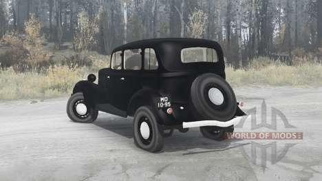 GAZ M1 1936 para Spintires MudRunner