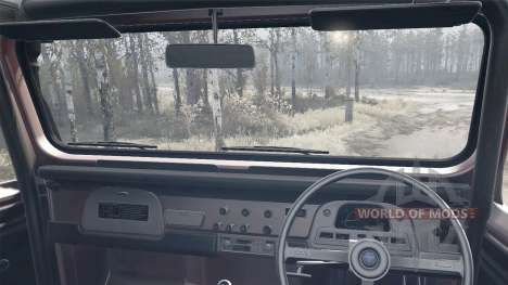 Toyota Land Cruiser 40 6x6 para Spintires MudRunner