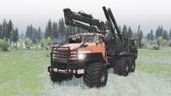 Ural Polyarnik v17.07.18 para Spin Tires