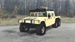 Hummer H1 Alpha 6x6 4-door convertible para MudRunner