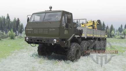 KrAZ Sibéria 7Э6316 editar Sergo para Spin Tires