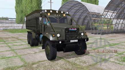 KrAZ 255B v1.2.1 para Farming Simulator 2017