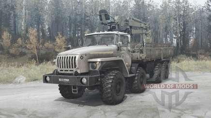 Ural 6614 v3.6 para MudRunner