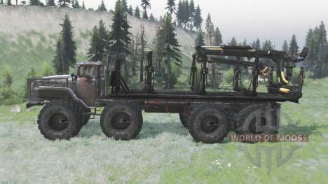 Ural Polyarnik 8x8 para Spin Tires