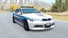 ETK 800-Série Sérvia: Polícia v1.01 para BeamNG Drive
