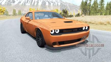 Dodge Challenger SRT Hellcat (LC) 2015 v2.0 para BeamNG Drive