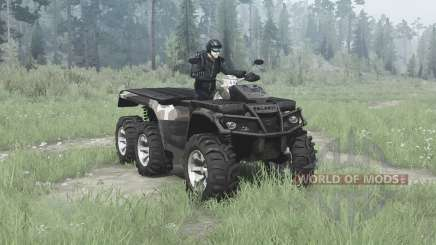 Polaris Sportsman Big Boss 6x6 para MudRunner