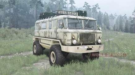 GAZ 66 Beaver para MudRunner