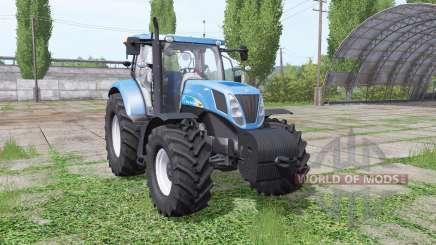 New Holland T7040 para Farming Simulator 2017