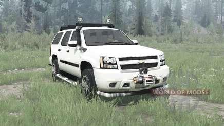 Chevrolet Tahoe (GMT900) 2007 para MudRunner