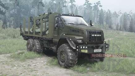 Ural Próximo (4320-6951-74) curto para MudRunner