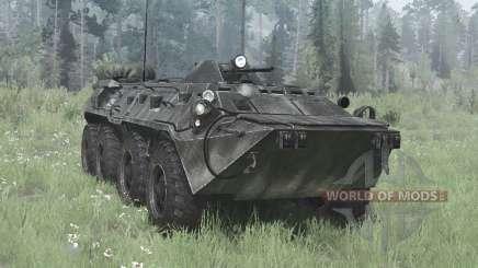 BTR-80 (GAZ-5903) para MudRunner