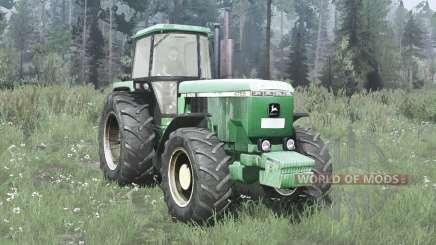 John Deere 4755 para MudRunner