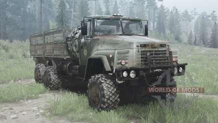 KrAZ 260 6x6 para MudRunner