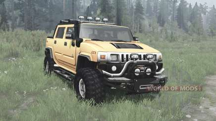 Hummer H2 SUT off-road para MudRunner