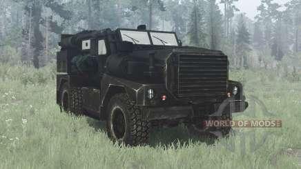 Cougar 4x4 MRAP 2002 para MudRunner