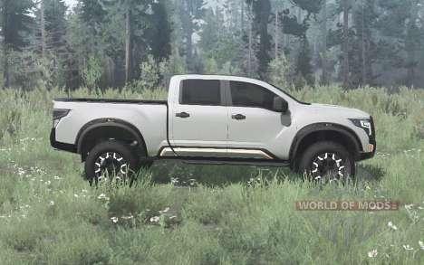 Nissan Titan Warrior concept 2016 para Spintires MudRunner