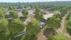 A aldeia de Molokovo v1.8.6 para Farming Simulator 2017