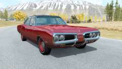 Dodge Coronet sedan (WP41) 1970 v2.22 para BeamNG Drive