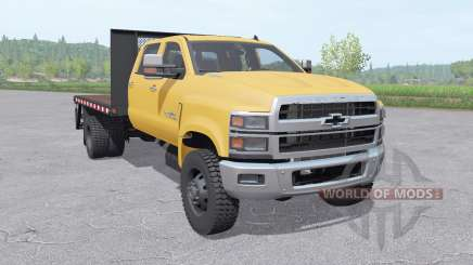 Chevrolet Silverado 4500HD Crew Cab 2018 v1.1 para Farming Simulator 2017