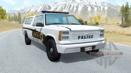 Gavril D-Series Firwood Police Department v5.3 para BeamNG Drive