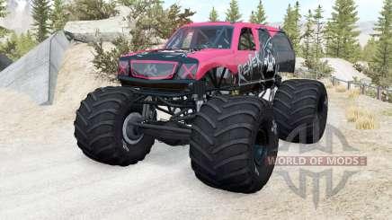 CRD Monster Truck v1.15 para BeamNG Drive